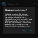 AC Display android aplikace1