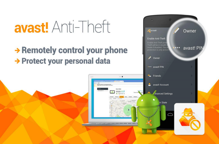 Avast Anti-Theft 764×501
