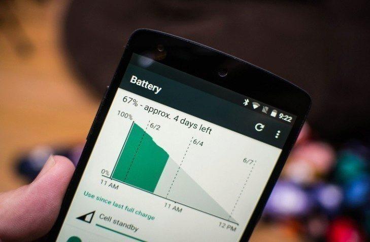 Vydrží Android 7.0 N ještě déle na jedno nabití?