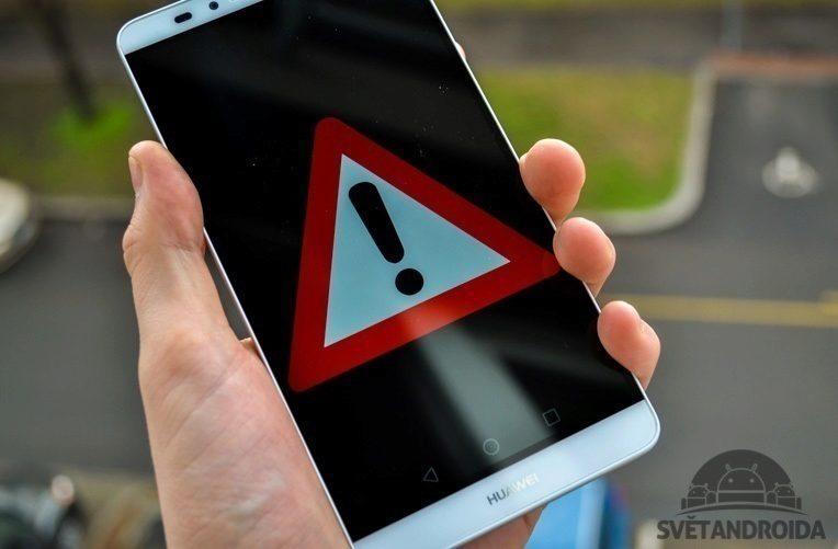 Google upozornění