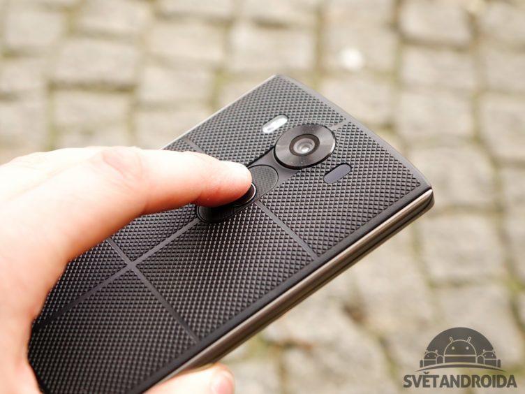 LG V10 - čtečka otisků prstů