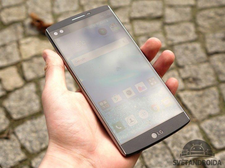 LG V10 - konstrukce, váha