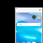 LG V10 – systém Android,  režim jednou rukou