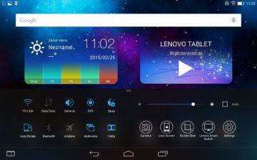 Lenovo Yoga 2 8 -  Systém, anglické texty