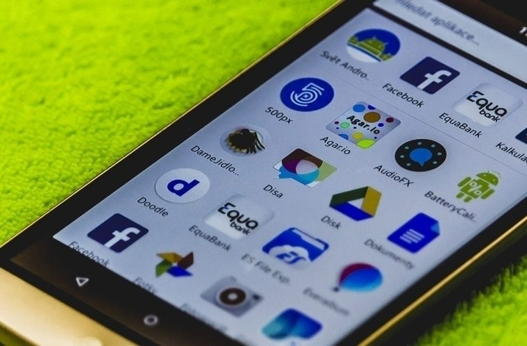 Nabídka aplikací – App drwaer – náhleďák