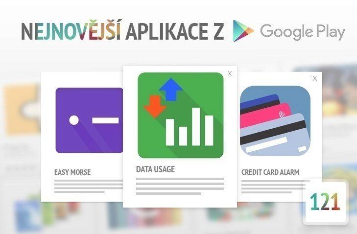 Nejnovější aplikace z google play 121