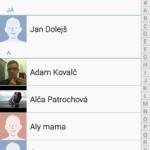 Samsung Galaxy A3 – kontakty a lide (2)