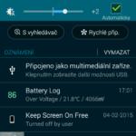 Samsung Galaxy A3 – prostředí systému Android 4.4.4 (5)