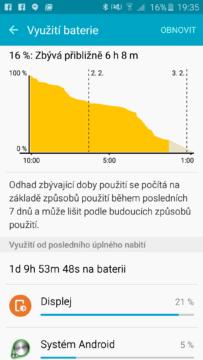 Samsung Galaxy A5 (2016) baterie