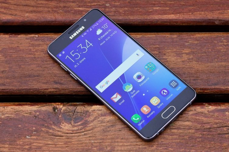 Samsung Galaxy A5 (2016) displej