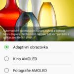 Samsung Galaxy A5 (2016) nastavení displeje