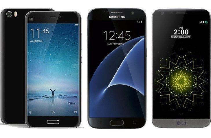 Samsung Galaxy S7 LG G5