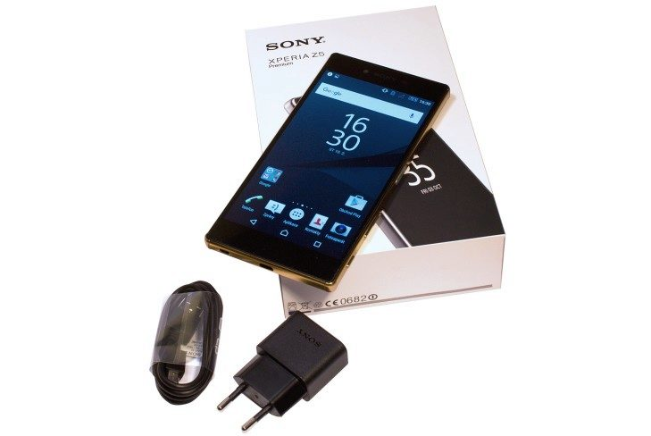 Sony Xperia Z5 Premium balení