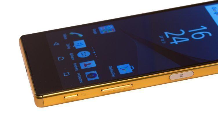 Sony Xperia Z5 Premium tlačítka bok