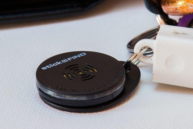 StickNFind - štítek na klíčích