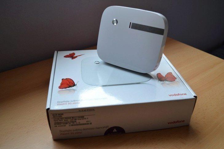 Vlastní 3G zóna Vodafone - obsah balení