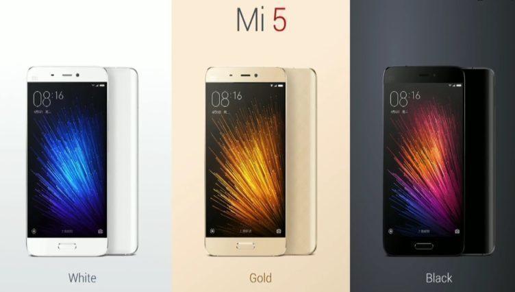 Xiaomi Mi5 3