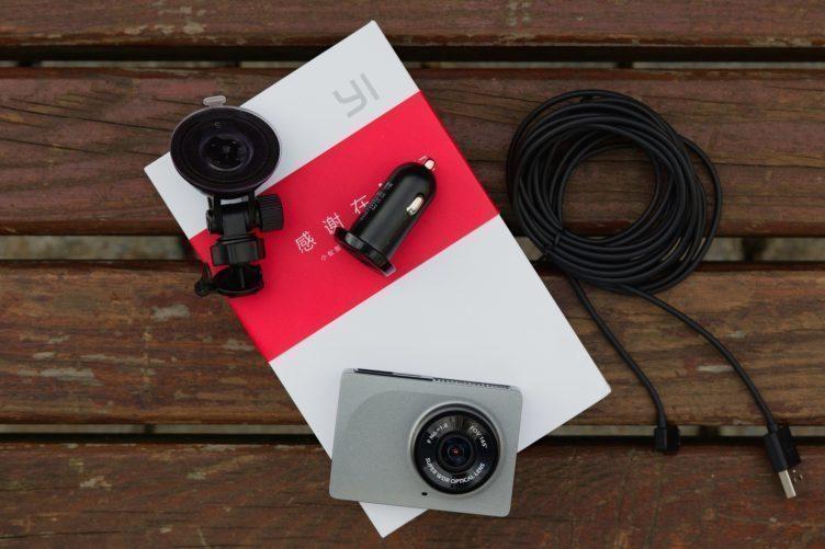 Xiaomi Yi Dashboard Camera obsah balení