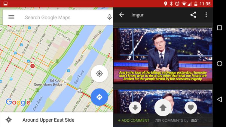 Android 7.0 N přinese režim práce ve více oknech