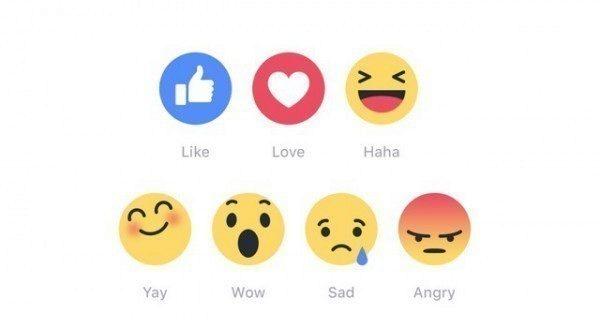 Facebook reakce