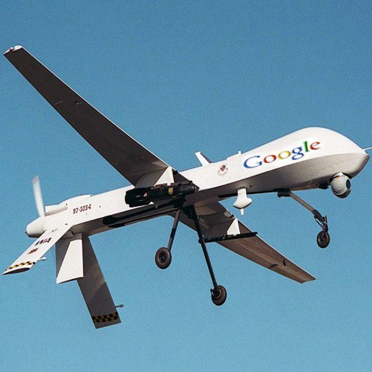 Dron společnosti Google šířící 5G signál