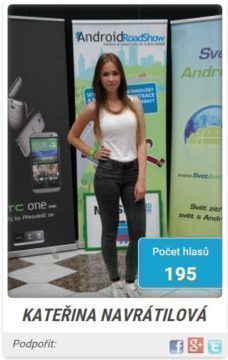 miss android roadshow 2014 - finalistka 1s