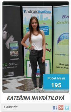 miss android roadshow 2014 - finalistka 1s