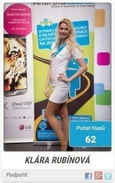 miss android roadshow 2014 - finalistka 2s