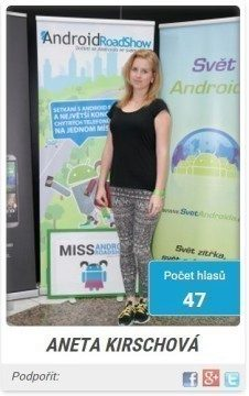 miss android roadshow 2014 - finalistka 3s