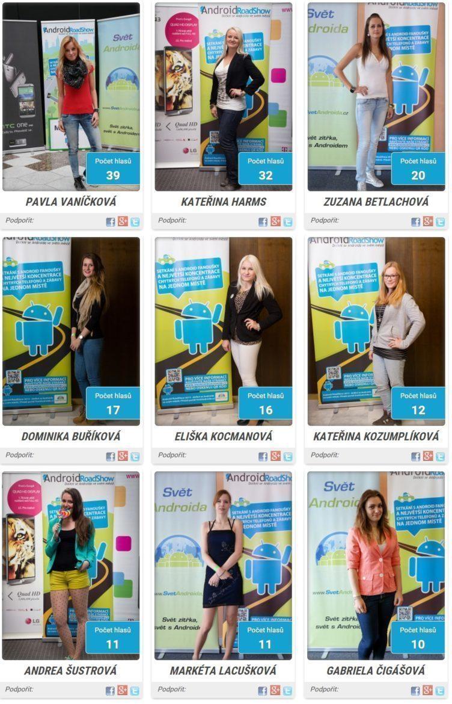 miss android roadshow 2014 - finalistky