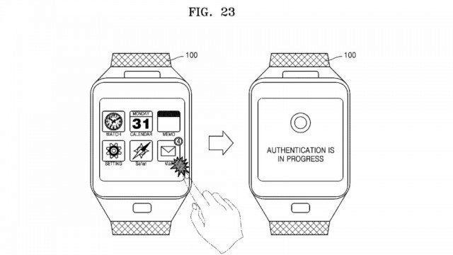 "Samsung patentoval ""čtečku žil"""