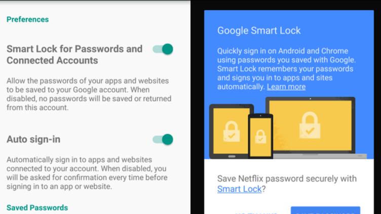 Android Marshmallow přišel s aplikací Google Smart Lock