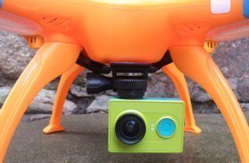 Troufalý patent: Dron od Xiaomi půjde ovládat krokoměrem