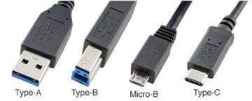 Porovnání USB konektorů