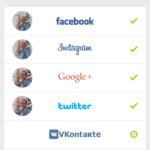 Propojení se sociálními sítěmi