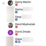 Odpovídající profily na sítích