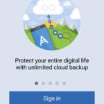 Neomezená záloha do cloudu.