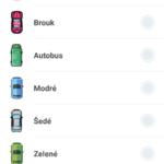 Nastavení ikony auta