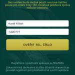 Registrace telefonního čísla