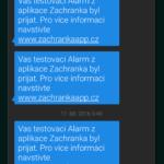 Potvrzující SMS