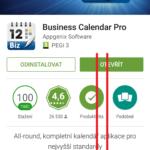 Odrolujte na konec stránky aplikace