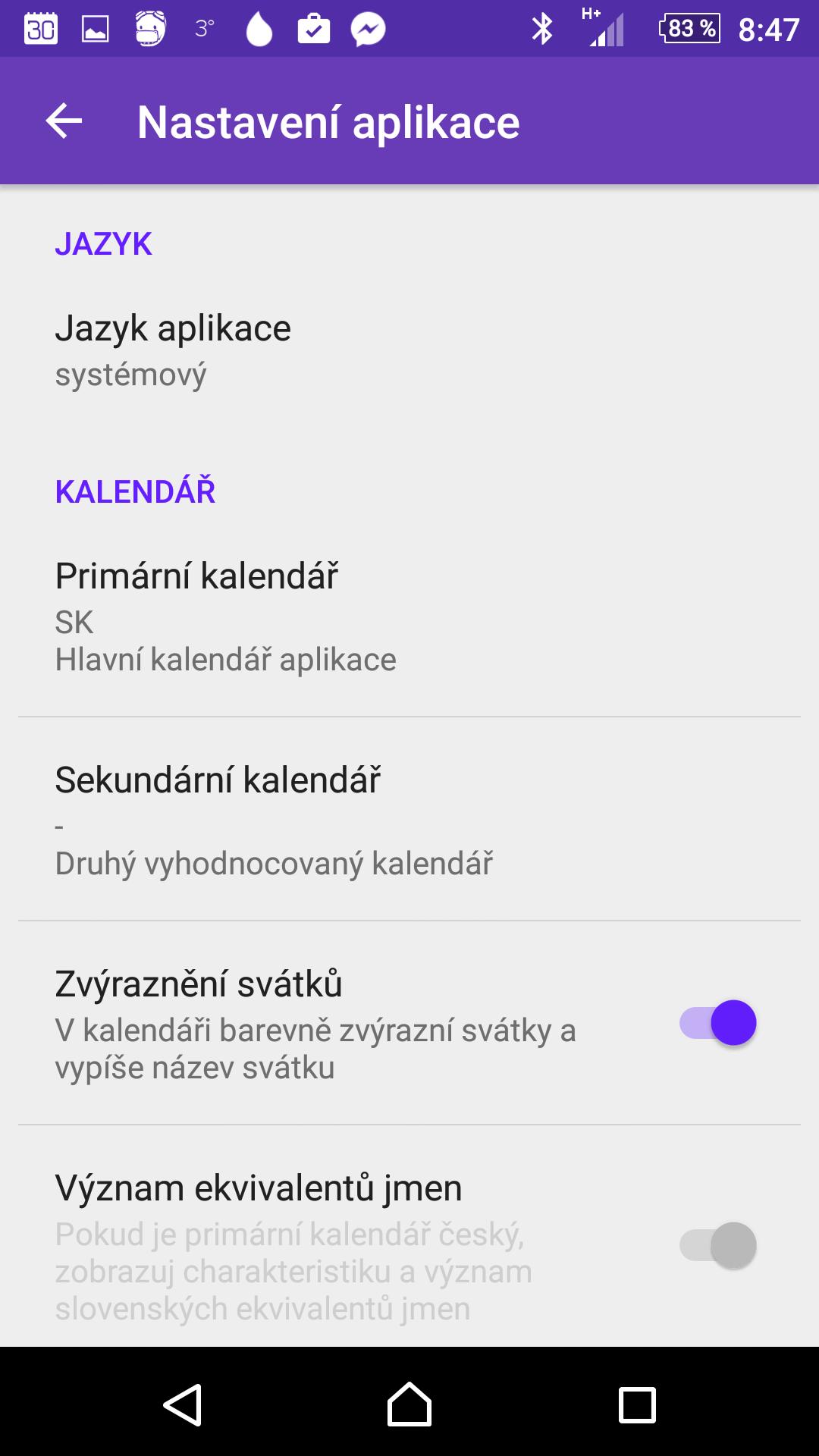 slovensky kalendar jmen Aplikace Svátky a jména z vás udělá vzorné gratulanty slovensky kalendar jmen