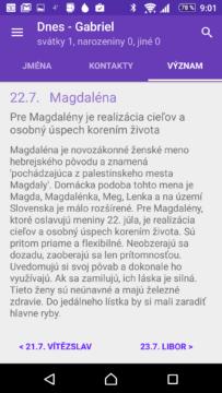 Význam jmen ve slovenštině