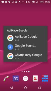 Widgety Google
