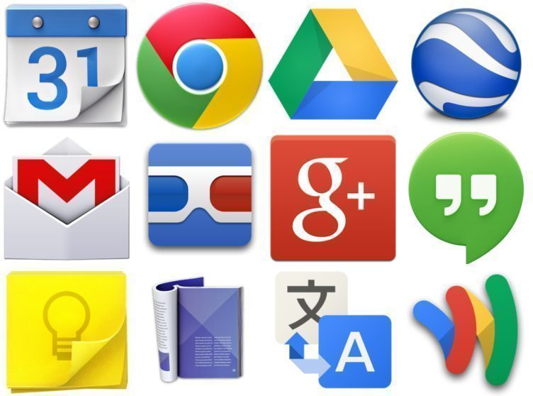 Systém Android je dodáván se sadou aplikací