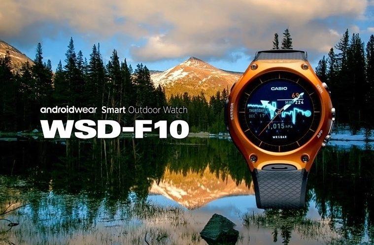 Casio WSD-F10 – náhleďák