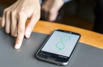 Aplikace FingerIO: Ovládání telefonu, aniž byste se ho dotkli