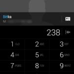 HTC Desire 620 –  Dialer