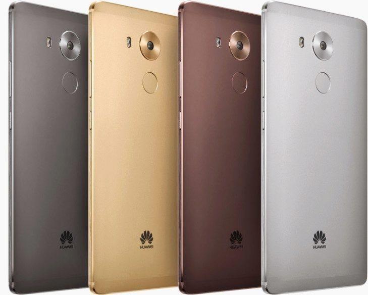 Huawei Mate 8 barevné varianty