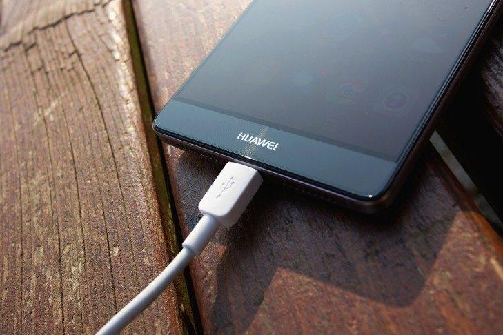 Huawei Mate 8 nabíjení